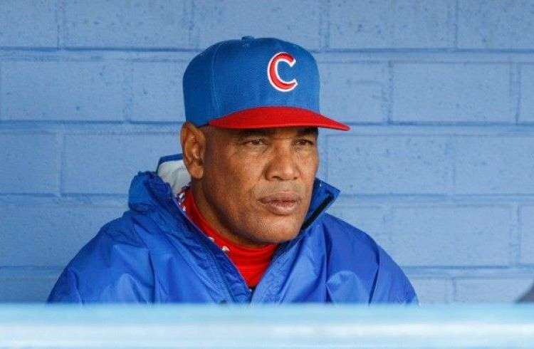 Victor Mesa, manager of the Cuba national team.