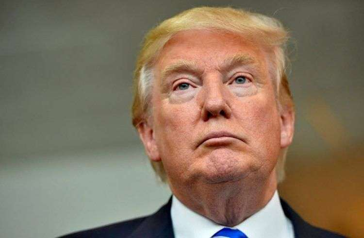 Donald Trump in Greenville, South Carolina, last September. Photo: Richard Shiro / AP.