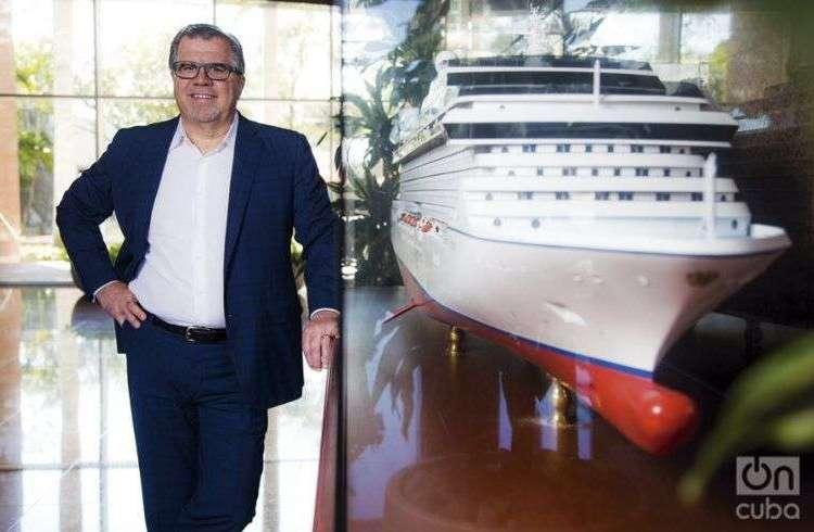 CEO of Norwegian Cruises. Photos: Osbel Concepción