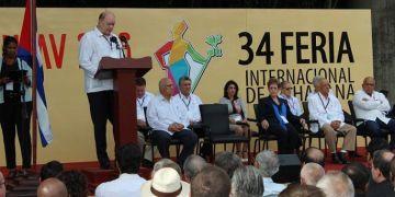 Inauguration of FIHAV 2016. Photo: Jesús Rodríguez.