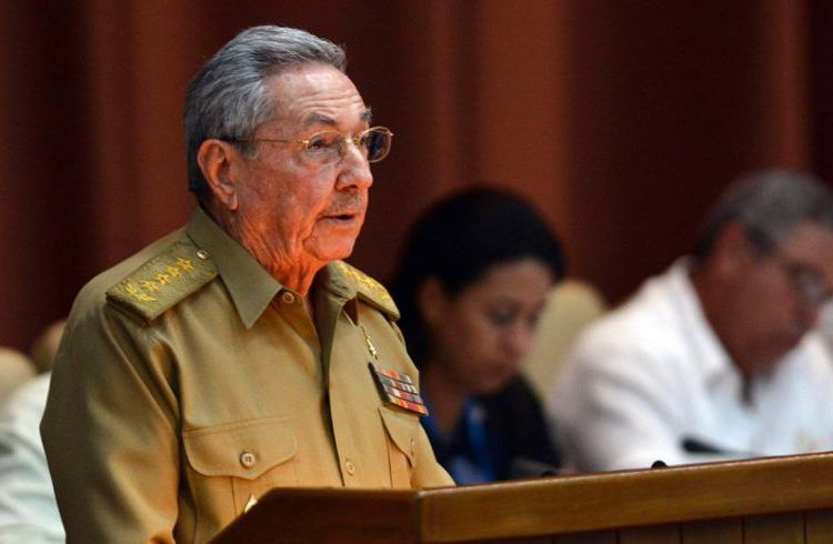 Raúl Castro addresses the first regular meeting of the National Assembly of People's Power. Friday July 14, 2017, Havana. Photo: Marcelino Vázquez / EFE.