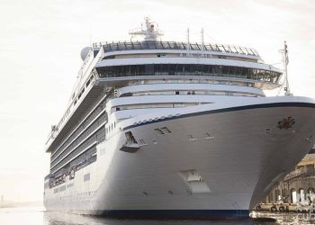 The Marina, Norwegian Cruise Line Holdings' first ship to travel to Havana. Photo: Claudio Peláez Sordo.