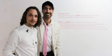 Maikel Domínguez, left, and Eduardo Herrera. Photo: Elaine Vilar.