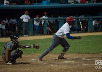 Cuba-U.S. baseball meet in Havana's Latin American Stadium. Photo: Otmaro Rodríguez.
