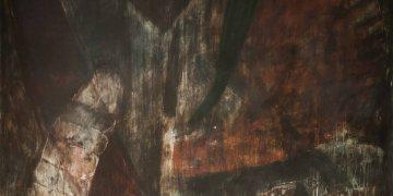 Discurso primario, 2018, Acrylic on canvas, 200 x 200 cm