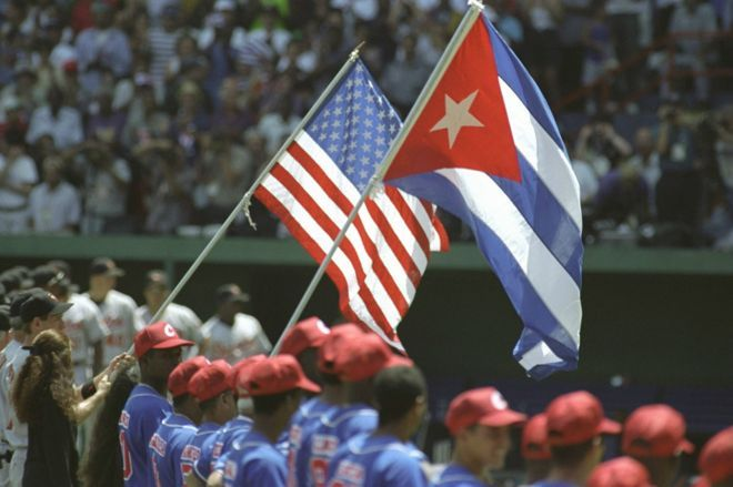 Cuba and MLB signed a historic agreement. Photo: Taken from the BBC.
