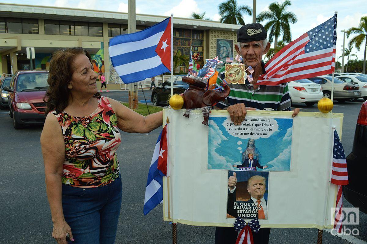 Cubans on Election Day in Miami. Photo: Marita Pérez Díaz.