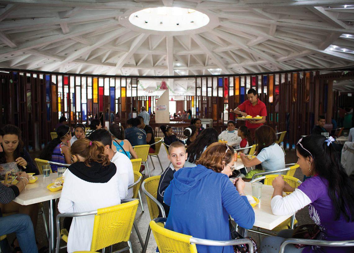 The famous Coppelia ice cream parlor in Havana. Photo: todocuba.org