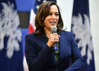 Senator Kamala Harris. Photo: Meg Kinnard, AP.