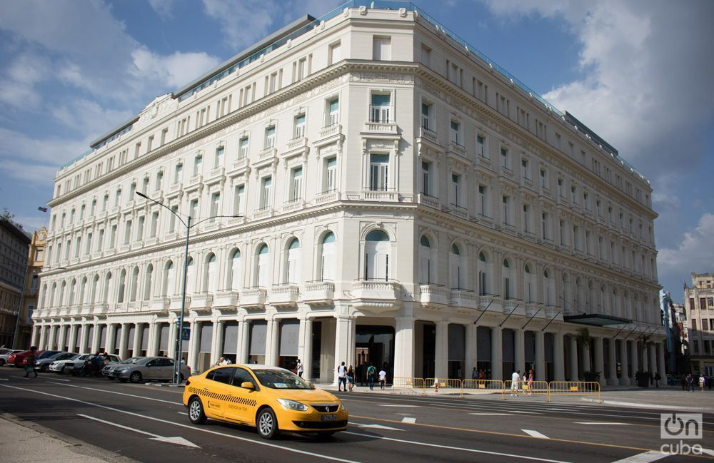 Gran Hotel Manzana Kempinski. Photo: Ismario Rodríguez.