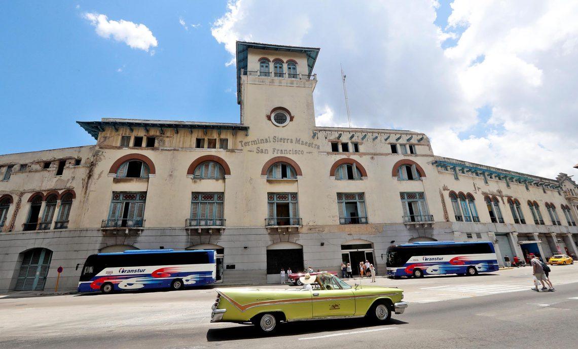 Havana's Sierra Maestra Cruise Terminal. Photo: Ernesto Mastrascusa / EFE.