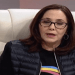 Mariela Castro during the May 13, 2019 Mesa Redonda TV program. Photo: Screen Shot.