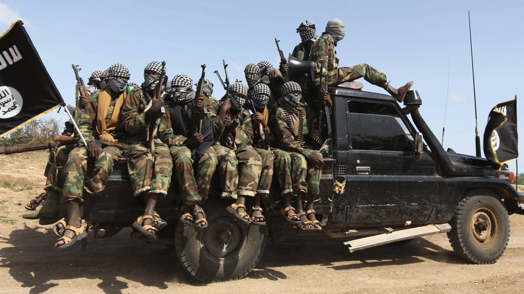 Al-Shabaab troops during one of their operations. Photo: channel4.com