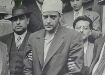 Ramón Mercader after his arrest.