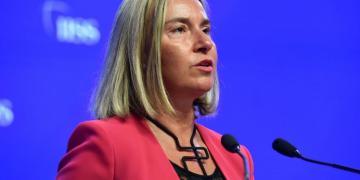 The European Union's Head of Diplomacy, Federica Mogherini. Photo: middle-east-online.com.