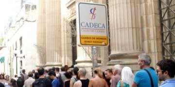 CADECA on Obispo Street. Photo: AP.