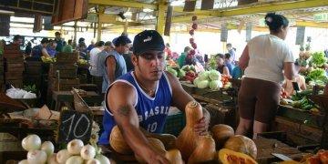 Market on 19 and B, in the Vedado neighborhood, Havana. Photo: mapio.net