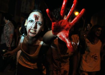 Halloween in Cuba. Photo: cuadernodecuba.net