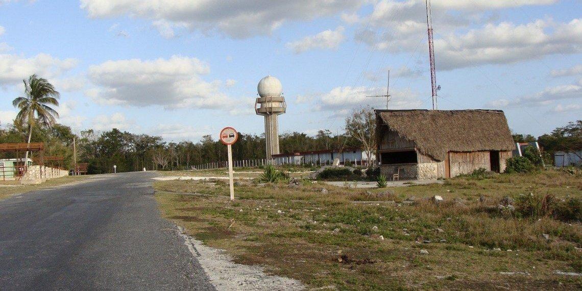 La Bajada radar. Photo: César O. Gómez López.