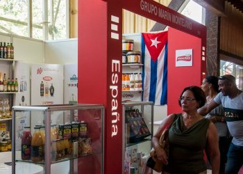 Spain's pavilion at the Havana International Trade Fair 2018. Photo: Claudia Yilén Paz/Cubahora.