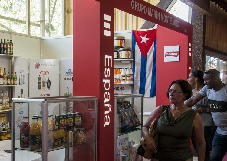 Spain's pavilion at the Havana International Trade Fair 2018. Photo: Claudia Yilén Paz/Cubahora.