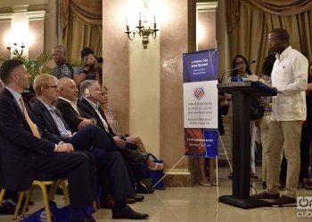 Opening of the Business Forum between Cuban and U.S. companies in the IT and communications sector at the Hotel Nacional de Cuba, in Havana, on September 4, 2019. Photo: Otmaro Rodríguez.
