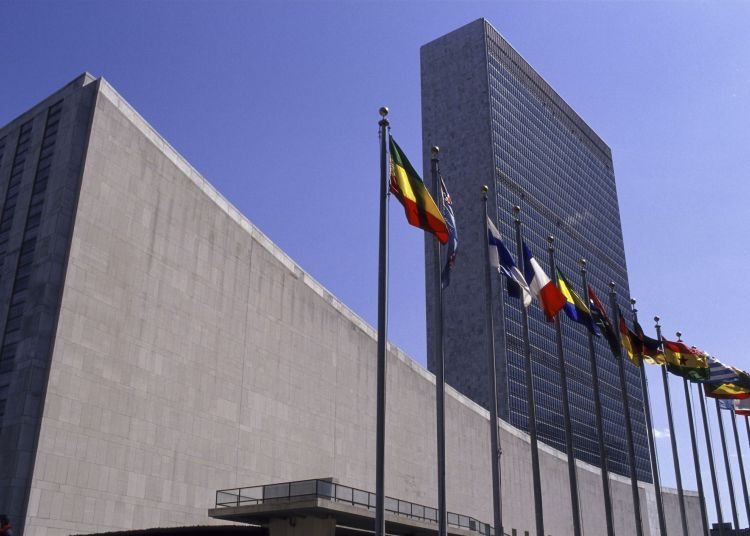 UN headquarters in New York, United States. Photo: pinterest.com