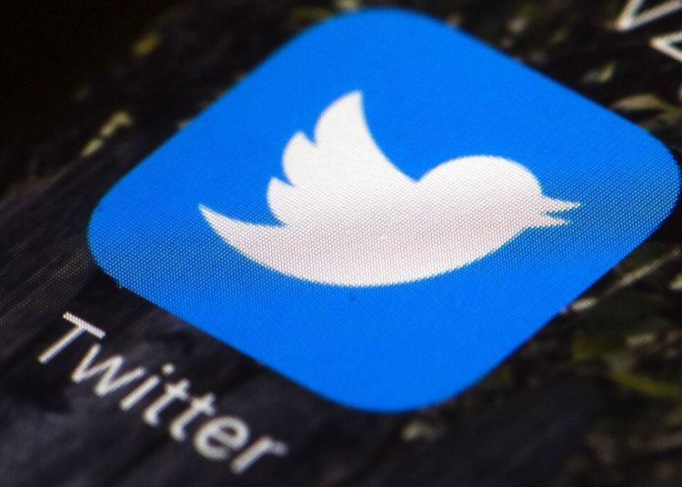 Photo of the Twitter application symbol. Photo: Matt Rourke / AP / Archive.