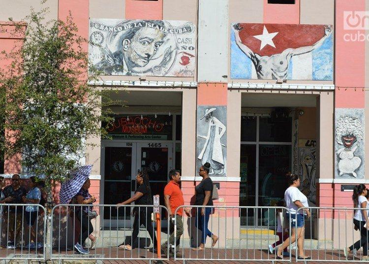 Calle Ocho in Miami. Photo: Marita Pérez Díaz.