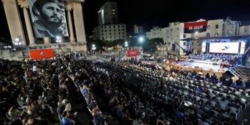 Cuba commemorated this Monday the third anniversary of the death of Fidel Castro (1926-2016) with numerous homages to remember his legacy throughout the country. Photo: Yander Zamora / EFE.
