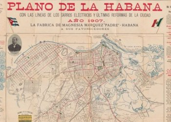 1907 map of Havana. Photo: news.miami.edu/