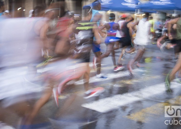 The 33rd edition of Marabana had wide participation of foreign runners. Photo: Otmaro Rodríguez