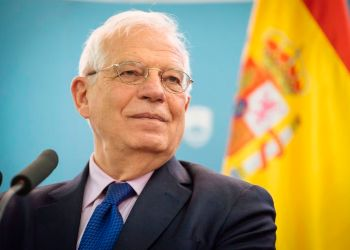 Spanish Foreign Minister Josep Borrell, who will hold the position of the community high representative for foreign affairs and vice president of the European Commission. Photo: Jure Makovec /AFP/Getty Images.