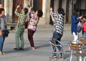 Chinese tourists. Photo: Getty Images