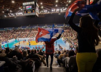 Despite the tough defeat in the Vancouver Pre-Olympic, Cuban men's volleyball has what it takes to stay afloat and compete at a higher level in the coming years. Photo: Getty Images.