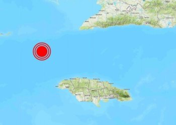 Location of the epicenter of the 7.7 magnitude earthquake perceptible in Cuba and other Caribbean countries, on the afternoon of January 28, 2020. Infographic: Russia Today.