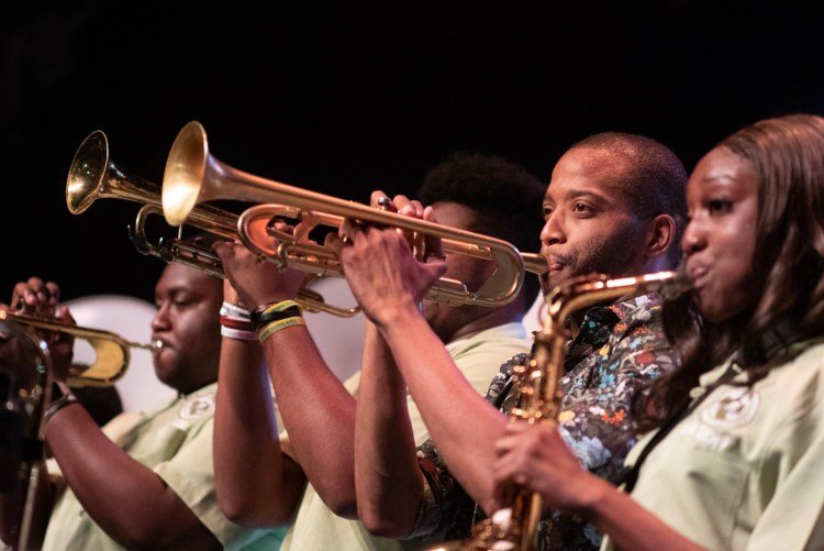 The Trombone Shorty Foundation will have a relevant presence in the Jazz Plaza. Photo: Laura Carbone
