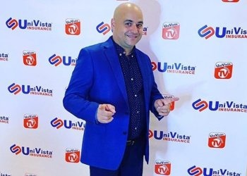 "Cuban humorist Andy Vázquez, who played the character of Facundo Correcto in the television program ""Vivir del Cuento,"" poses for a photo in the United States. Photo: Facebook profile of Andy Vázquez."
