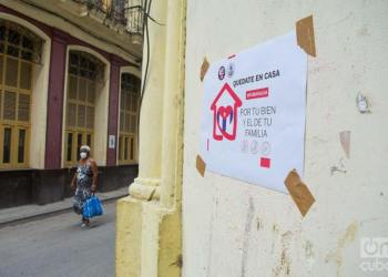 For the second consecutive day, Cuba doesn't report deaths from the new coronavirus. The total number of infected is 1,703. Photo: Otmaro Rodríguez