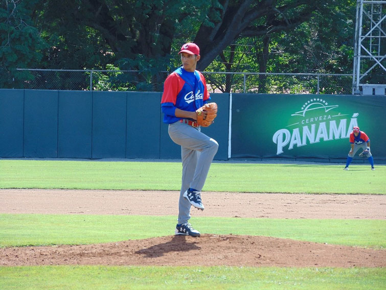 Ulfrido García fue el brazo de hierro del staff de pitcheo cubano. Foto: Fedebeis Panamá / Facebook.