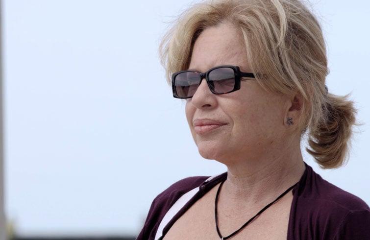 Isabel Santos en el personaje de Hilda en el corto 25 de horas. Foto: Cortesía de Carlos Barba.