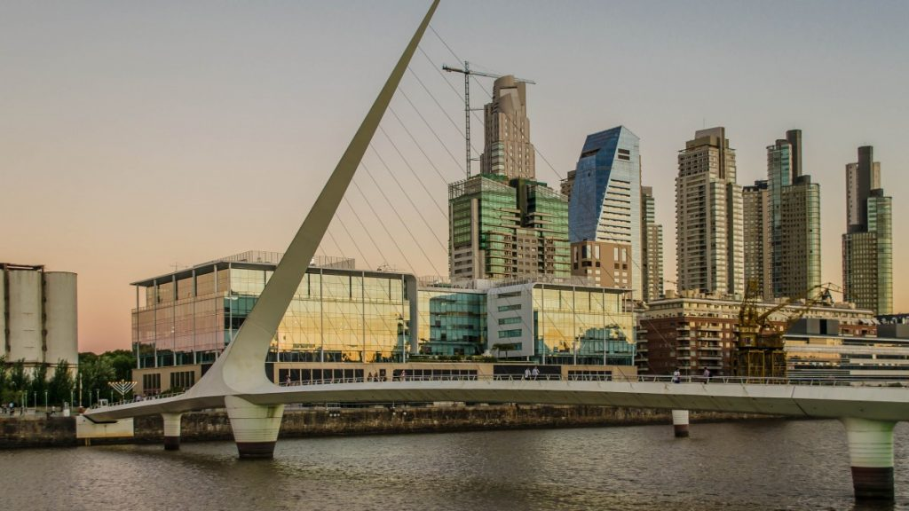 Puerto Madero, Buenos Aires. Foto: Pxhere.