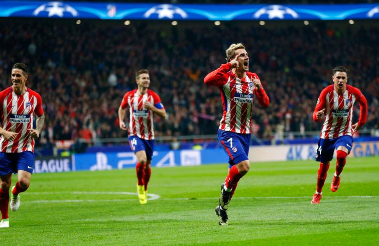 Desde su llegada al Atlético de Madrid, Griezmann se ha convertido en la bujía del equipo. Foto: Francisco Seco / AP.