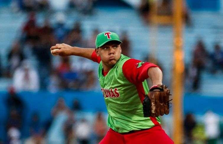 Yariel Rodríguez confirmó su crecimiento deportivo en la Serie Especial. Foto: Calixto N. Llanes / Juventud Rebelde.