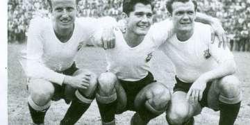 """Jugadores del equipo de fútbol cubano en """"Francia 1938"""""""