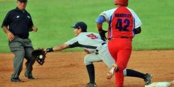Tope de béisbol Cuba-Estados Unidos