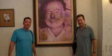 Los nietos de Hemingway en La Habana