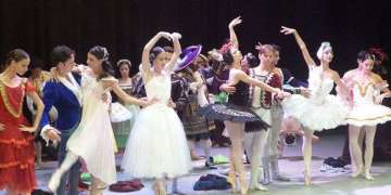Rodaje del spot promocional del XXIV Festival Internacional de Ballet de La Habana