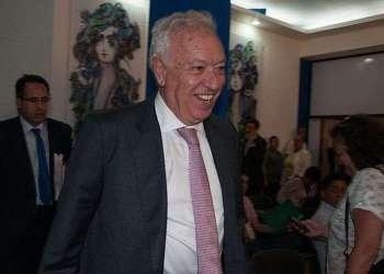 El canciller español José Manuel García-Margallo en Cuba / Foto: Raquel Pérez.