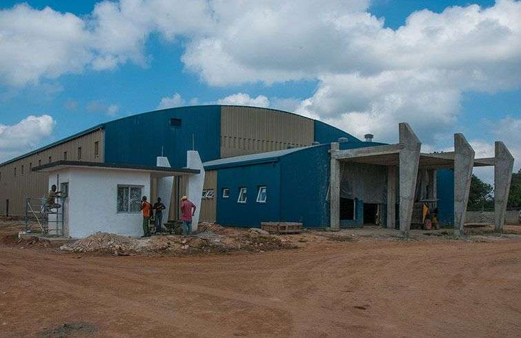 Factories like this for the production of biological products are being built in several countries / Photo: Raquel Perez.